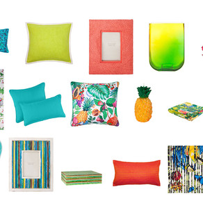 INTRODUCING ENERGISING TROPICAL SUMMER COLOURS