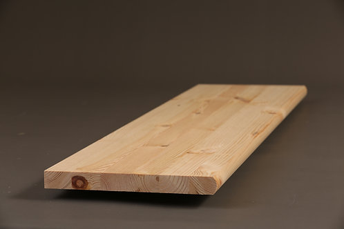 Pine Stair Treads ( Bull Nosed ) - 2700mm x 270mm x 28mm