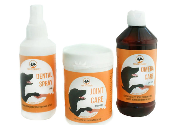 Omega Care, Joint Care and Dental Spray