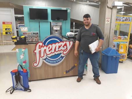 Frenzy Sorvetes - Unidade WallMart