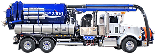 combination sewer cleaning truck