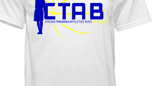 CTAB Original Logo on White Tee