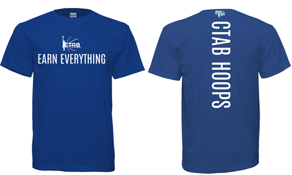 CTAB Elite Shirts 2019 BLUE.WHITE LETTER