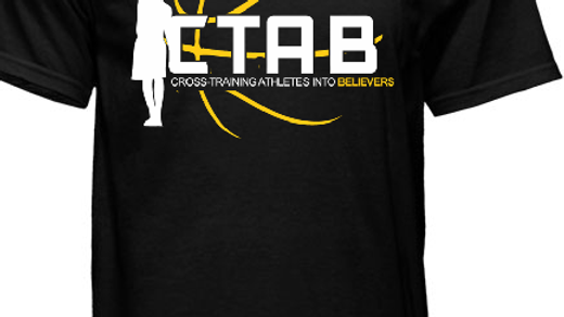 CTAB Original Logo on Black Tee