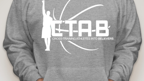 CTAB Original  Logo on Grey Hoody