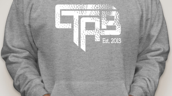 CTAB NEW Logo on Grey Hoody