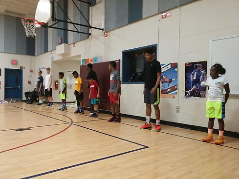 CTAB hoops strength and conditioning camp