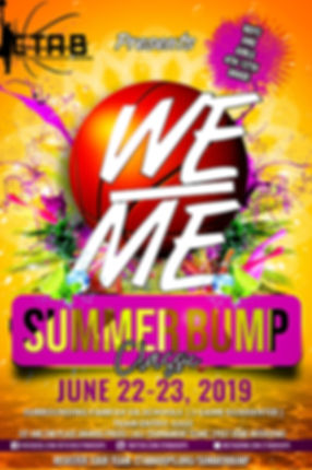 2019 We Over Me tournament OFFICIAL FLYE