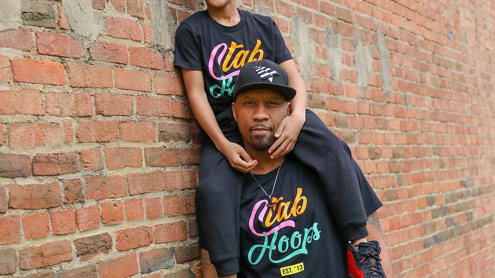 CTAB Hoops Multi-Colored T - Shirt