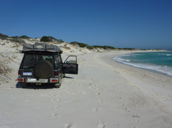 4wd Along the Beaches