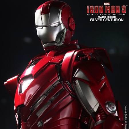 Iron Man 3. Silver Centurion Mark 33