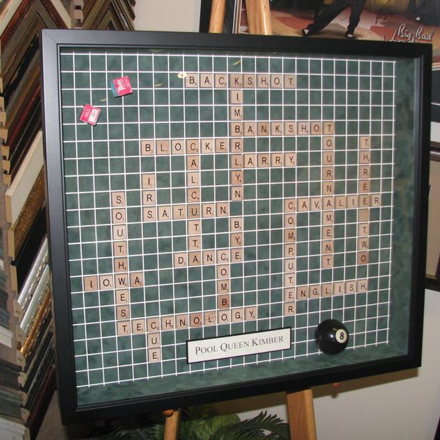 Scrabble and Pool Fan