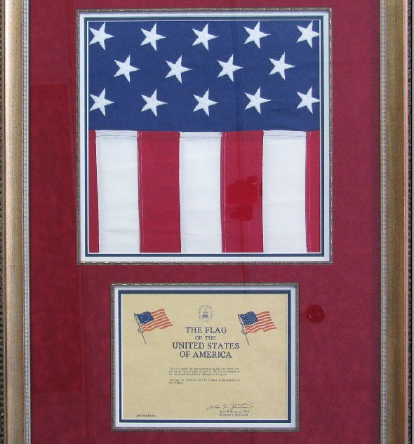 Flag and Certificate