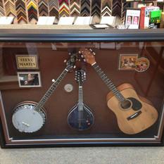 Steve Martin Signed Instruments