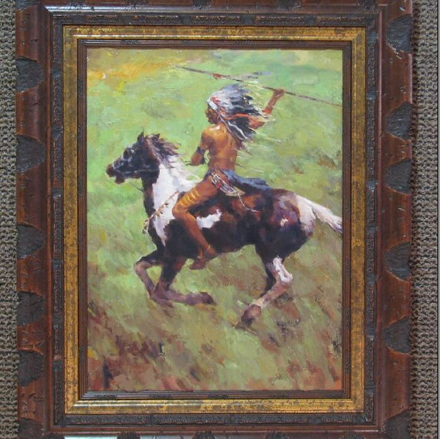 Brave on Horse