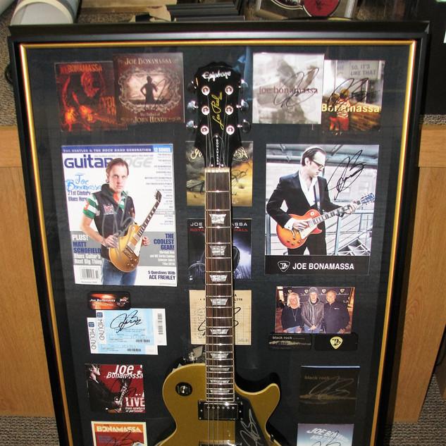 Joe Bonamassa Signed Guitar
