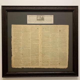 1781 Newspaper