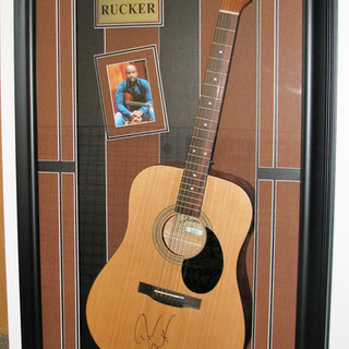 Darius Rucker Signed Guitar