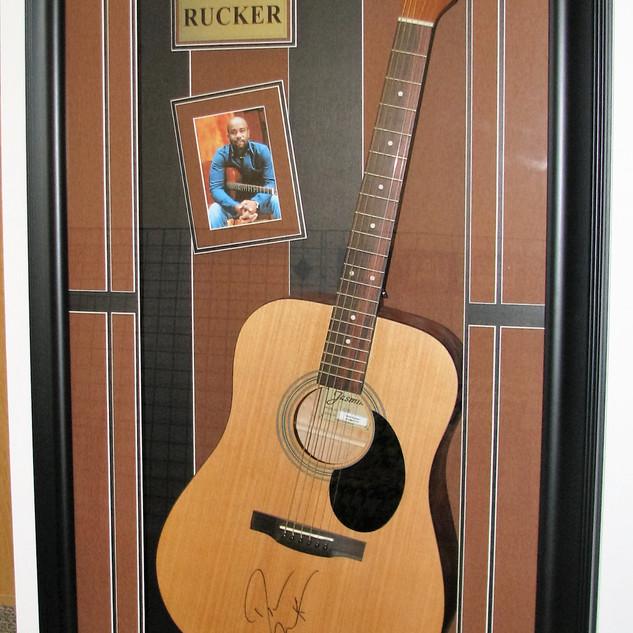 Darius Rucker Signed Guitar