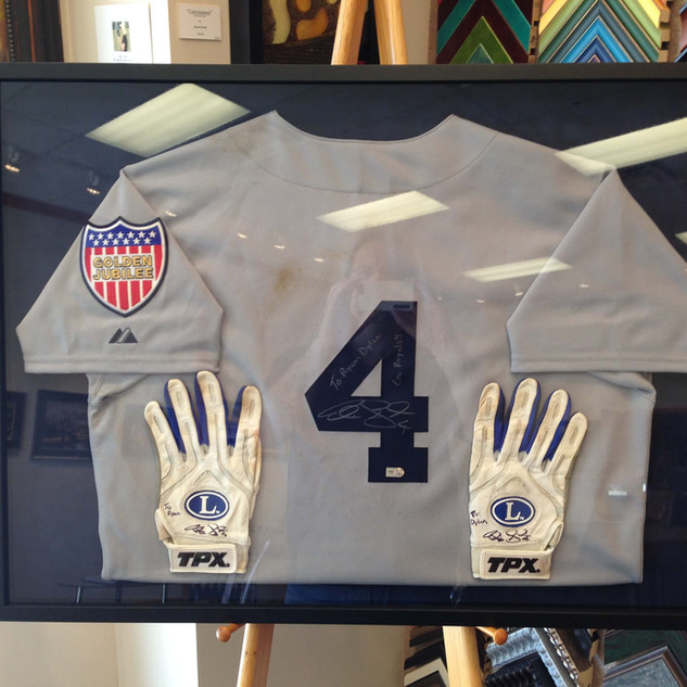 Alex Gordon Game Used Jersey and Gloves