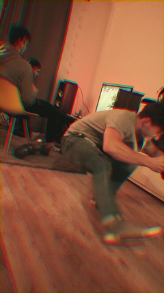 Studio Session with the boyz