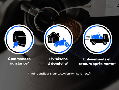 Votre réseau Bärenstark Motor Paris reste ouvert !