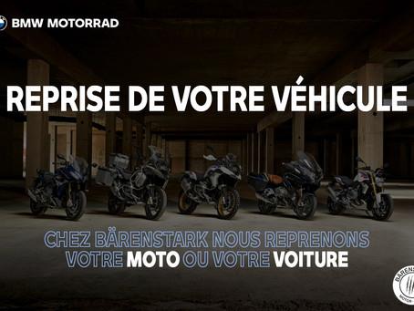 Reprise de votre moto ou voiture