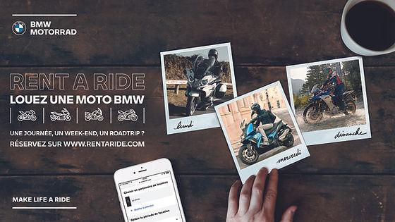 BMW Motorrad - Rent A Ride - VISUEL MAJE