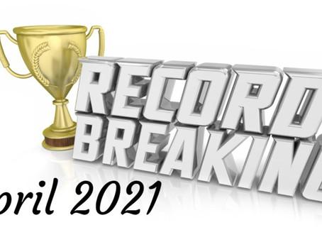 Screen Rescue achieve new record-breaking results in April!
