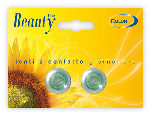 Beauty Giornaliera VERDE  - confezione 2 lenti