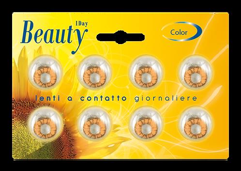 Beauty Giornaliere MARRONE - confezione 8 lenti