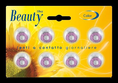 Beauty Giornaliere VIOLA - confezione 8 lenti