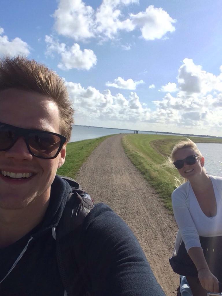 Mein Freund und ich auf Sylt