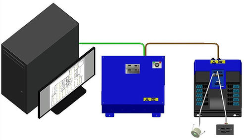 TYPICAL SYSTEM SCHEMATIC (TCP-IP) WHITE
