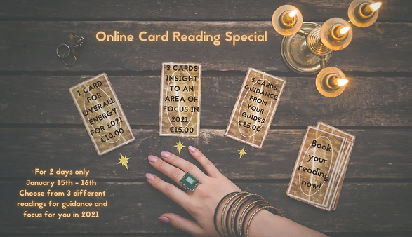 wix sml Online Card Reading Special 3 da