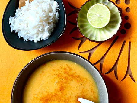"Orange ""Second Chakra"" April soup of the Month"