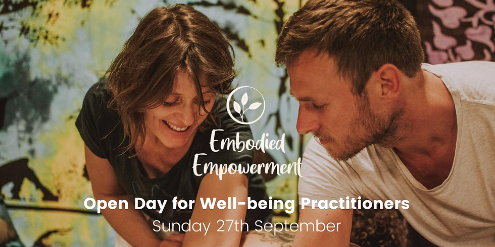 Open Day for Well-Being practitioners & Teachers