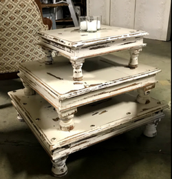 white-distressed-stacking-tables