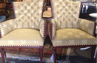 gold-chairs