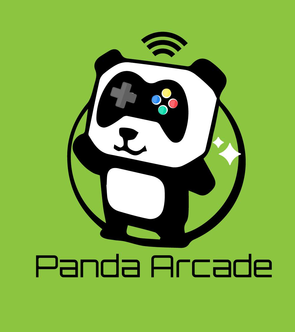 Panda Arcade Logo Design