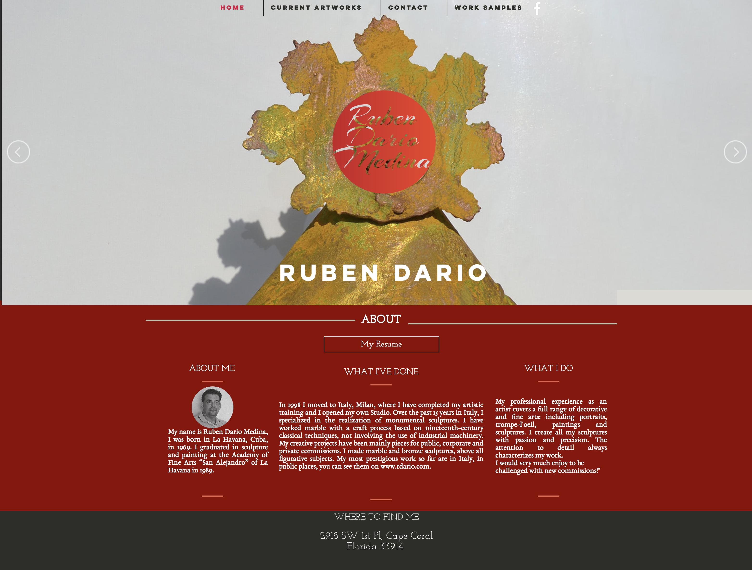 Ruben Dario Website