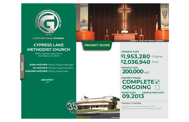Cypress Lake Methodist Church-Gulfpoint