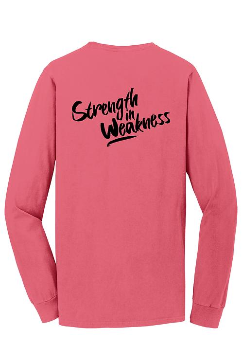 Strength In Weakness Long Sleeve