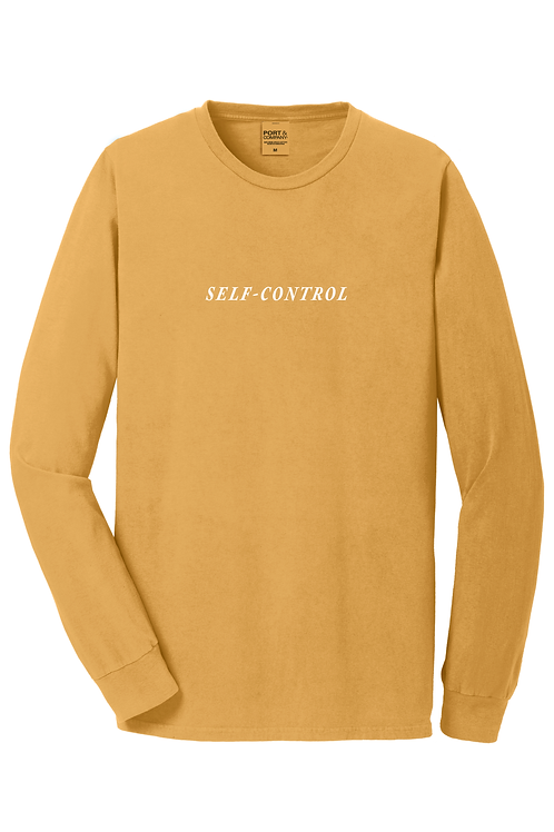 { SELF-CONTROL } Limited Edition Long Sleeve