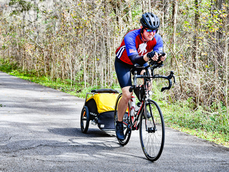 Team Dustoff & Wounded Warrior begin Ride Across America