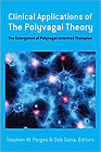 Cover of Deb Dana's book Clinical Applications of the Polyvagal Theory. Blue tones