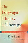 Cover of Deb Dana's book The Polyvagal Theory in Therapy.