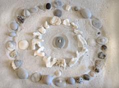 Sand Tray Spiral