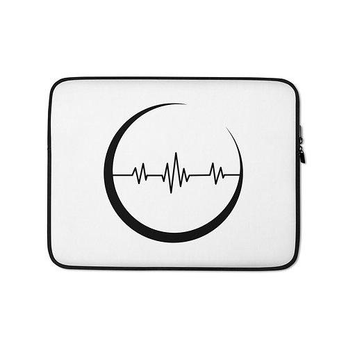 Moon Pulse - laptop sleeve