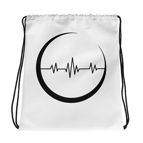 Moon Pulse - drawstring bag